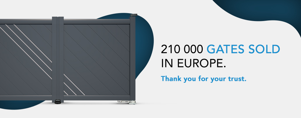210 000 gates sold in europe thank you for your trust
