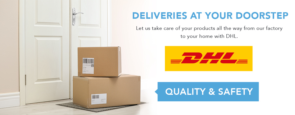 Delivery with DHL