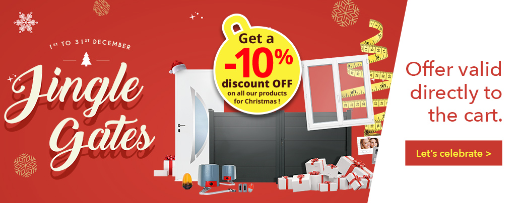 JINGLE GATES 10% OFF