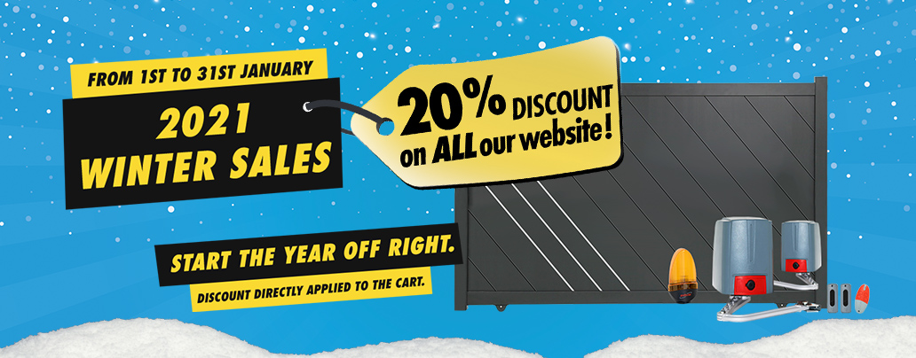 winter sales 20% off