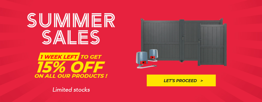 Summer Sales 15% off