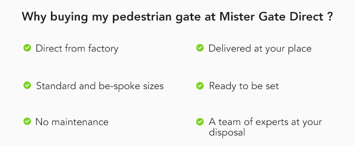 Why buying my pedestrian gate at MGD