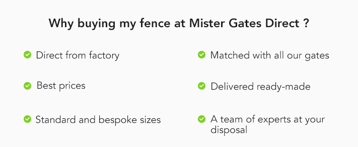 Why buying my fence at Mister Gates Direct