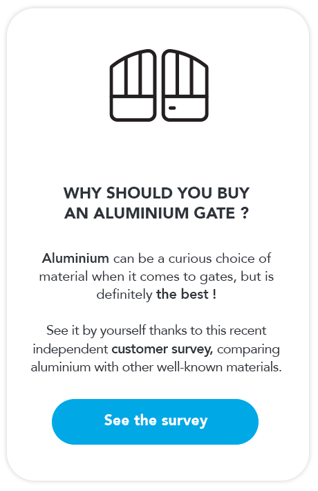 Why should I buy an aluminium gate