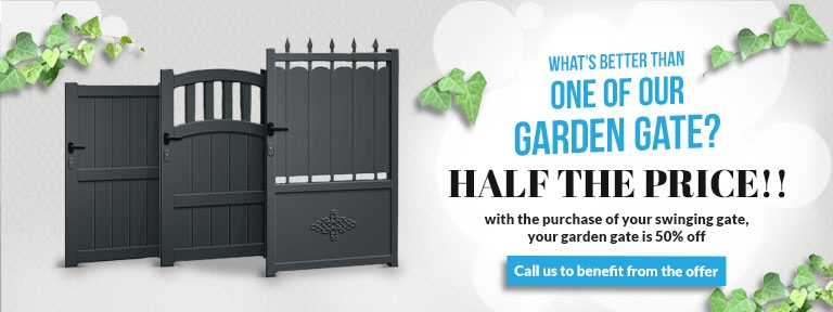Accessories for swing gates