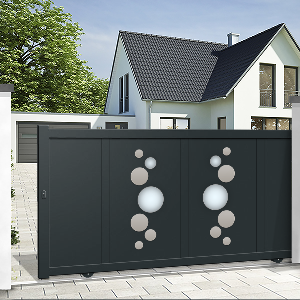 Sliding gates - decorative
