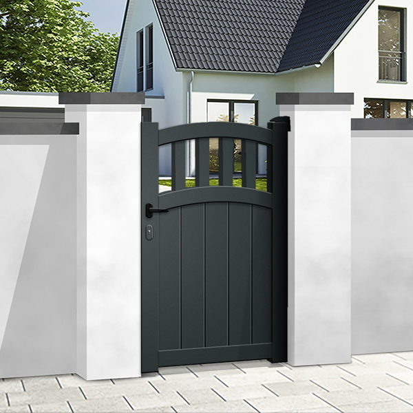 Pedestrian gates - mixed infill