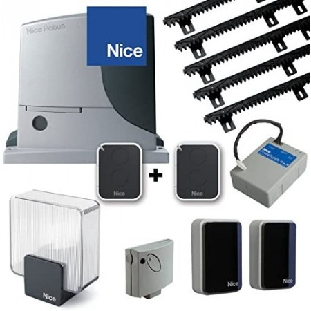 Electric sliding gate opener NICE ROBUS 600 EXCELLENCE + complete set of accessories