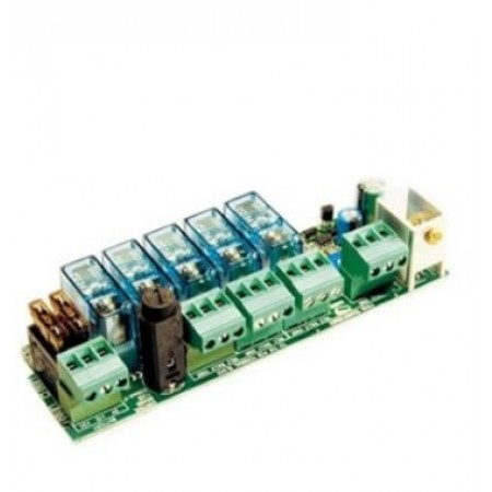 Card for connection of 2 Emergency Batteries - CAME 0021LB180
