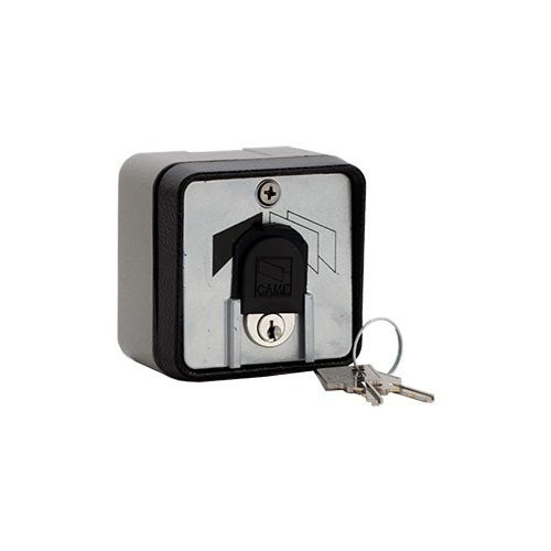 Surface mounted key switch with aluminium alloy casing