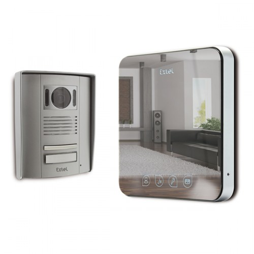 video intercom extel quattro 2 with wires mister gates direct. Black Bedroom Furniture Sets. Home Design Ideas