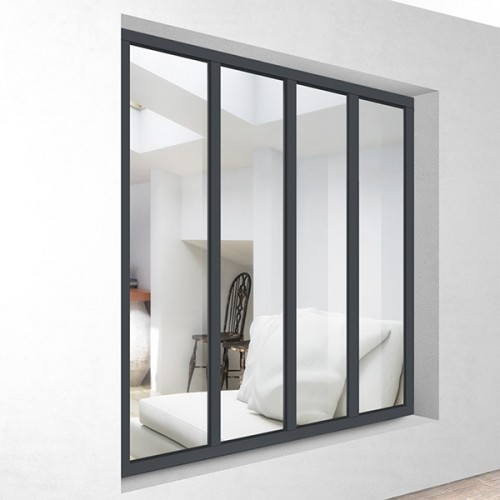 aluminium glass wall kit 4 glazing mister gates direct. Black Bedroom Furniture Sets. Home Design Ideas