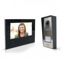 Wired video intercom MOTOSTAR Black - Livistar