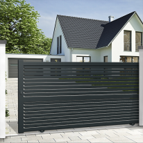 Aluminium sliding gate DENIA