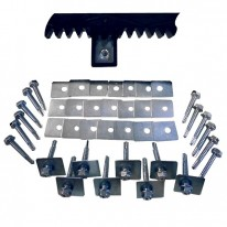 Fixation kit - drive-rack for sliding gate