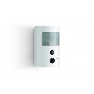 Infra-red detector with integrated wireless NICE camera