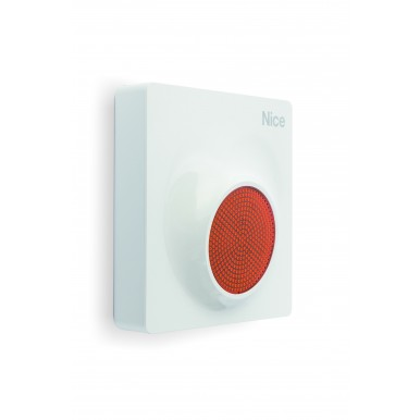 Outdoor Alarm siren MNS NICE with in-built flashing LED and voice function