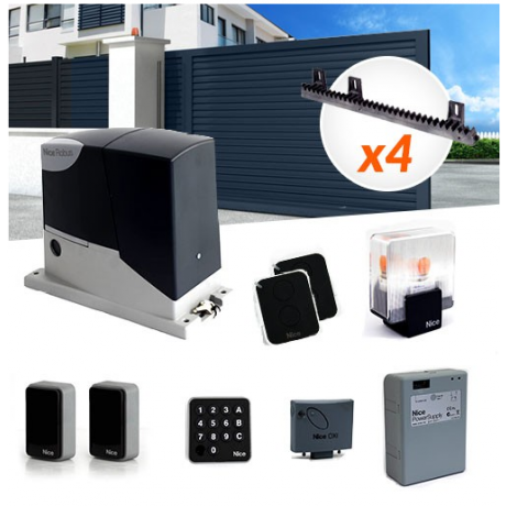 NICE ROBUS 400 sliding gate automation with accessories