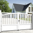 Aluminium dual swing gate PHILIPPINES