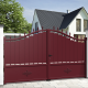 Aluminium dual swing gate OXFORD