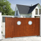 Aluminium sliding gate CHICAGO