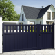 Unequal double swing gate WEDEL