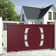 Aluminium sliding gate SEATTLE