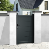 Pedestrian gates - integrated automation